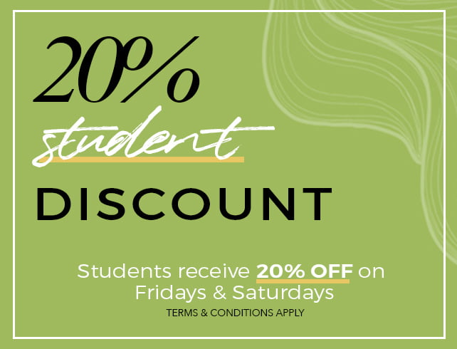 Student Discount Offers