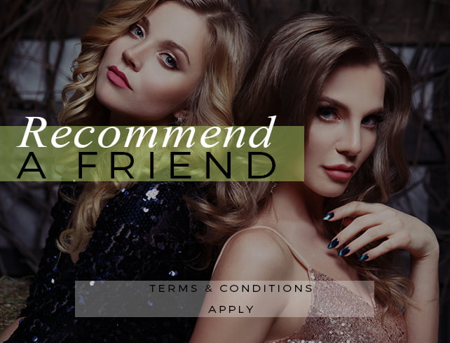 Recommend a Friend Hairdressing Offer